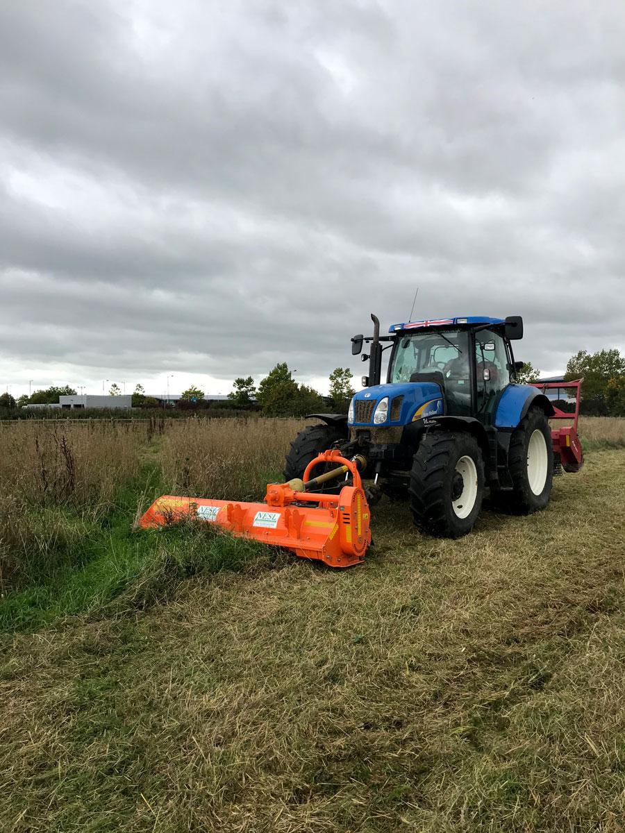 NESL Grass Mulching and Mulcher